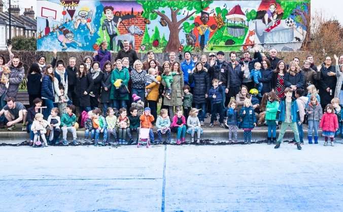 Support ruskin park paddling pool in 2018 and 2019 image