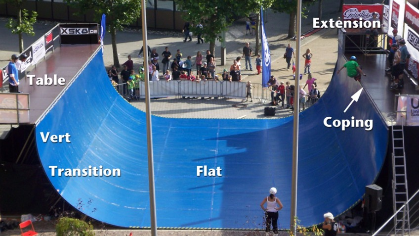 Blackets vert ramp (with learner sessions)