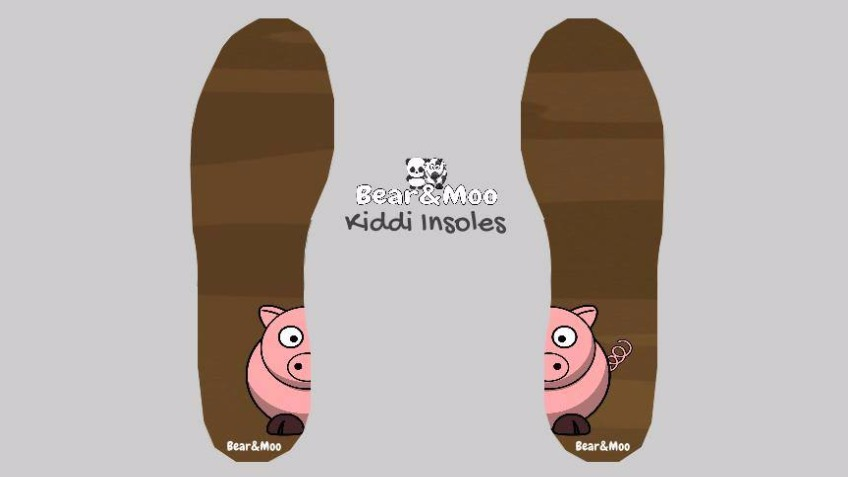 Bear & Moo - Kiddi Insoles