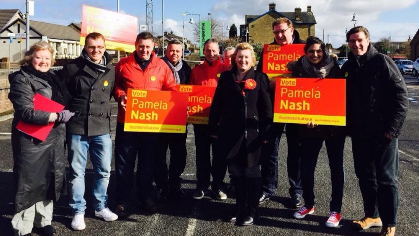 Elect Pamela Nash in Airdrie and Shotts!