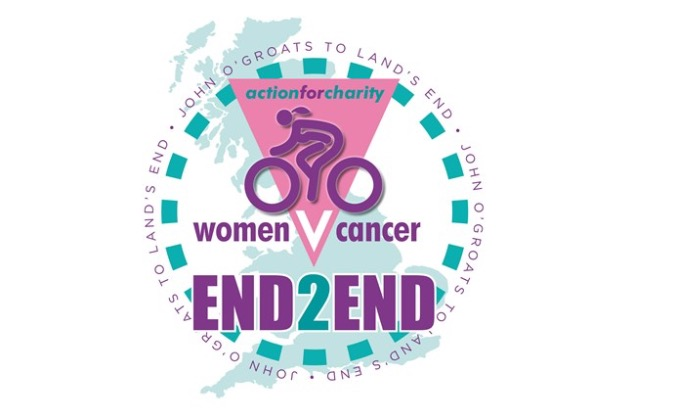 Woman Vs Cancer ride - Hereford to Land's End