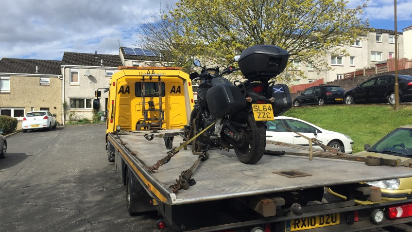 Getting back on the road!