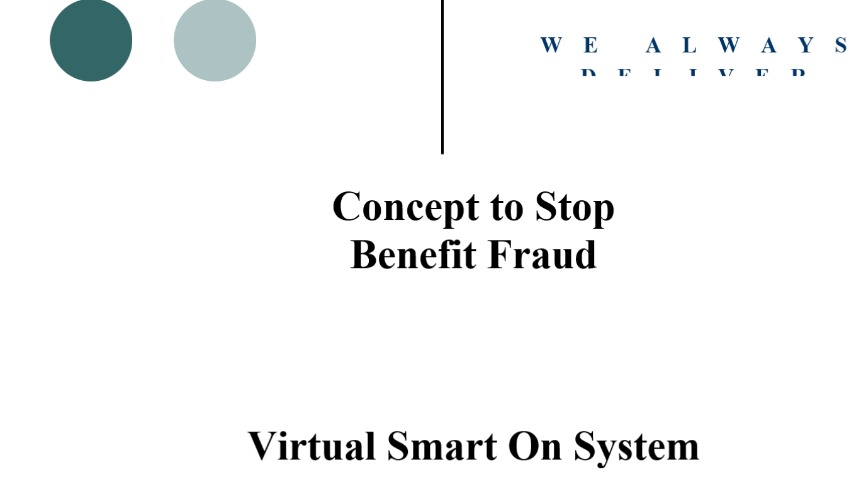 Virtual Smart On  stop benefit fraud and errors