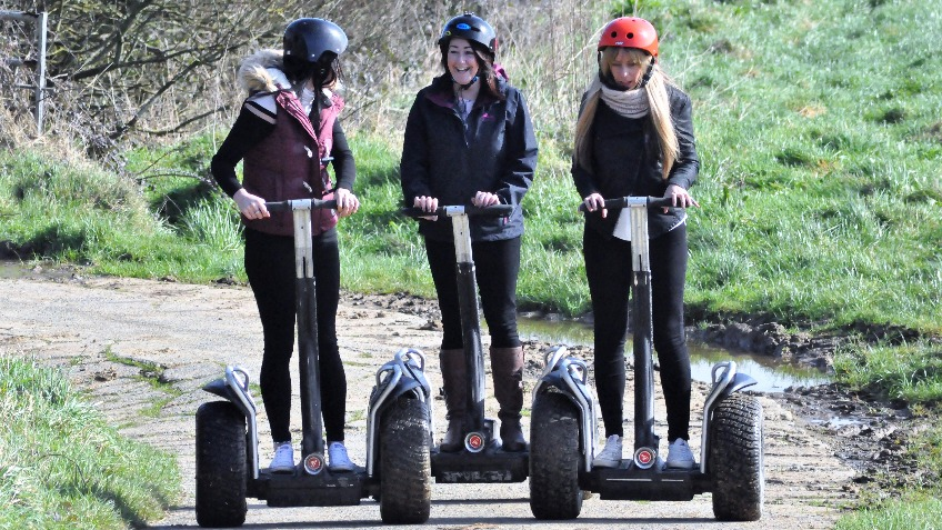 Segway adventure investment