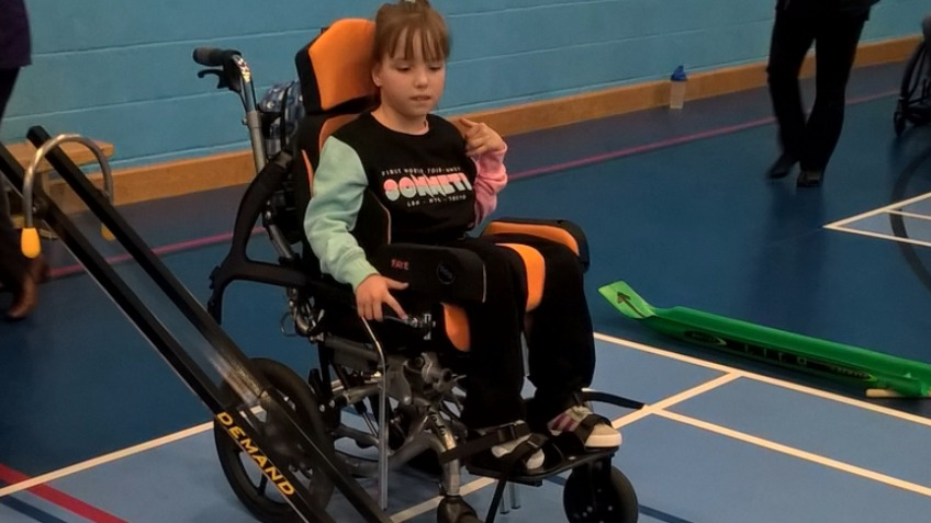 Faye's paralympic dream.