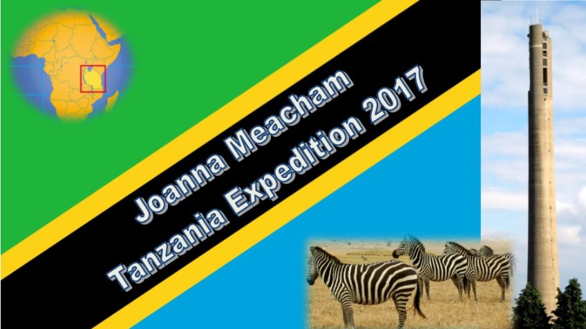 Joanna Meacham 2017 expedition to Tanzania