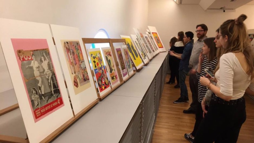 Pop Art exhibition - University of Kent
