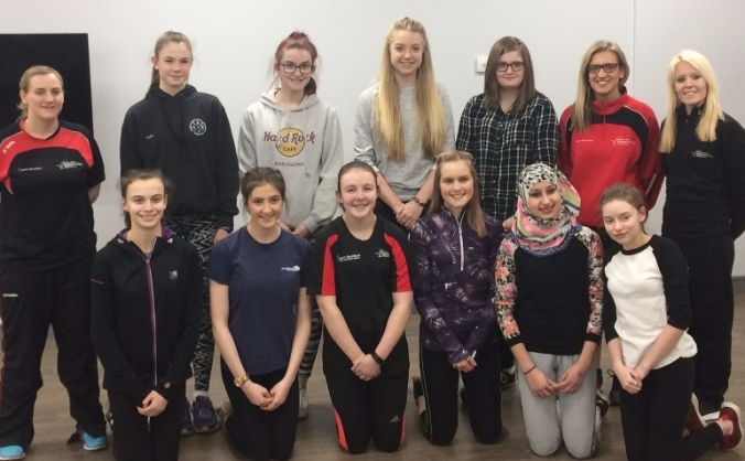 Active girls committee image