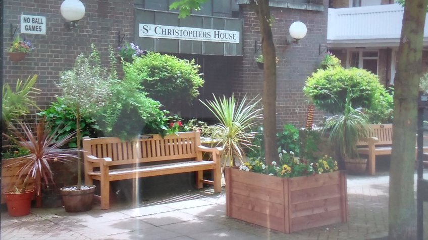 St Christopher's Garden Project