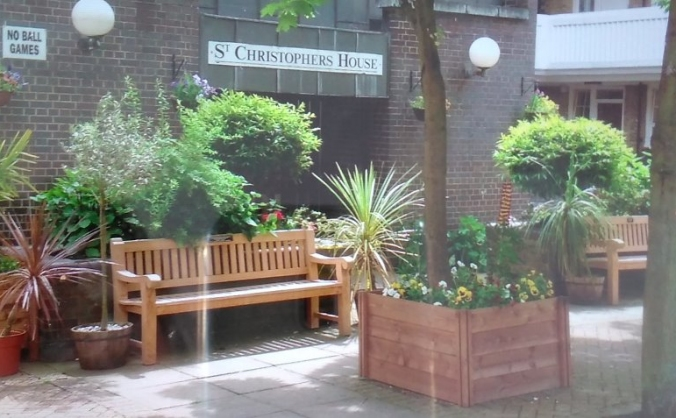 St christopher's garden project image