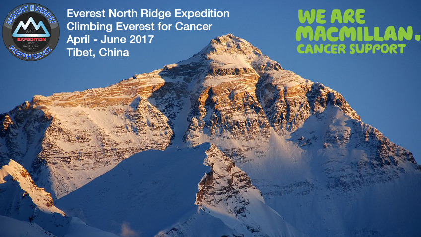 Climbing Everest for Cancer
