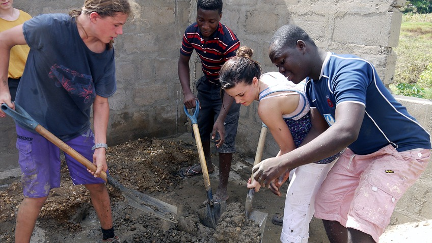 KLG Volunteers in Ghana