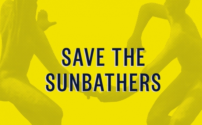 Save the sunbathers image