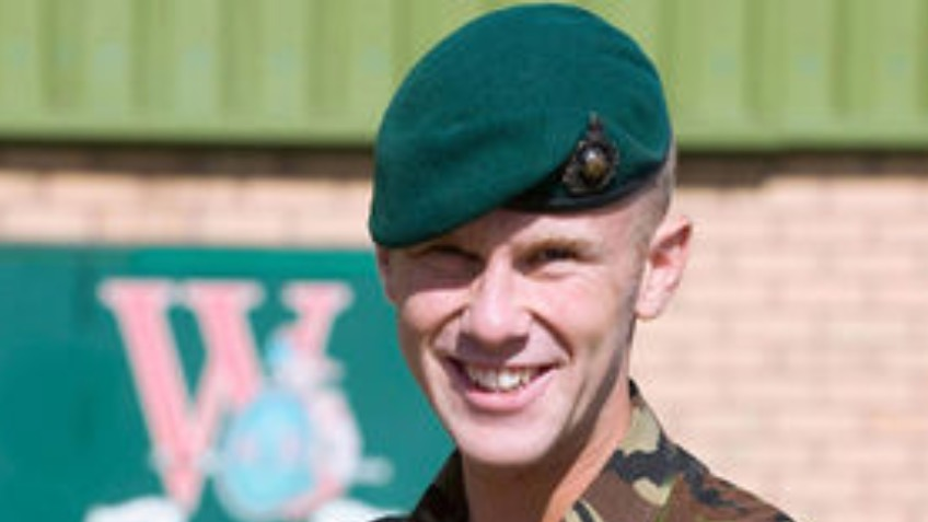 Memory of  LCpl Jamie Fellows