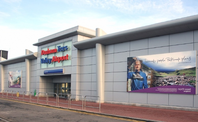 Save teesside airport - stop the housing image