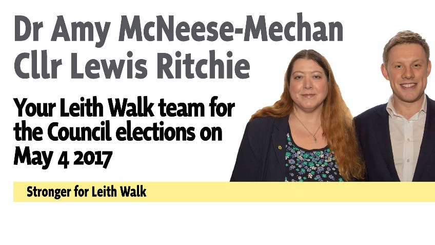 Amy McNeese-Mechan & Lewis Ritchie for Leith Walk