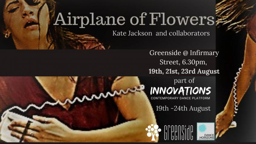 Airplane of Flowers at Ed Fringe 2019
