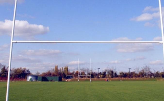 Sudbury rugby club's community defibrillator image