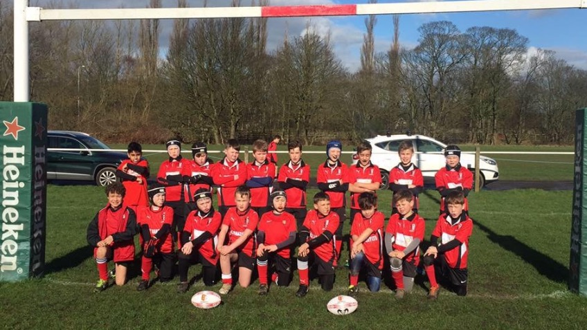 Blaydon Bullets U'9's Youth Rugby