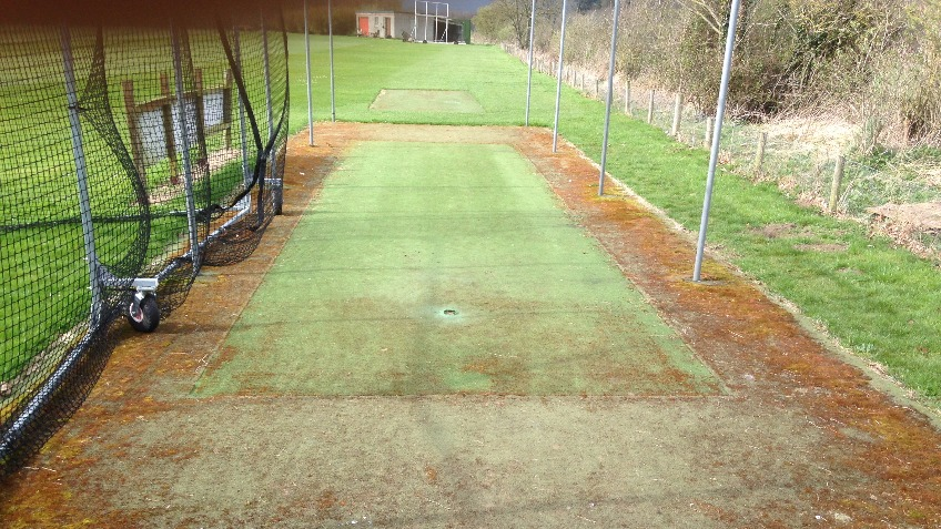 Bedale CC Practice Area Refurbishment