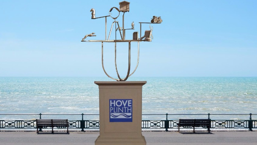 Constellation: a sculpted solar system for Hove