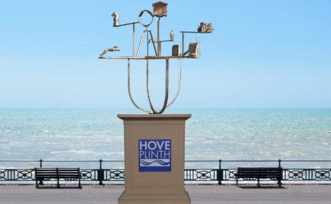 Constellation: a sculpted solar system for hove image