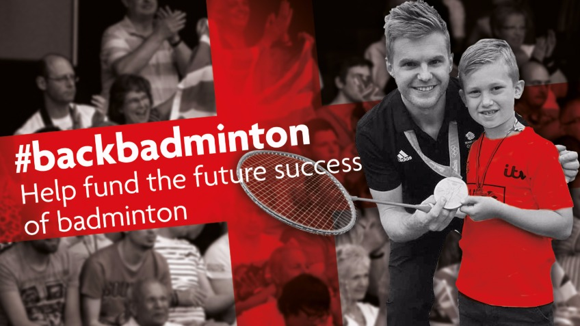 Help fund the future success of English badminton