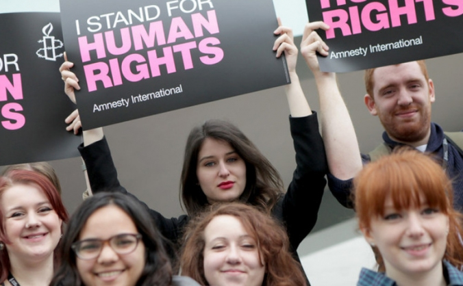 Sign an ad to mr gove: save the human rights act image