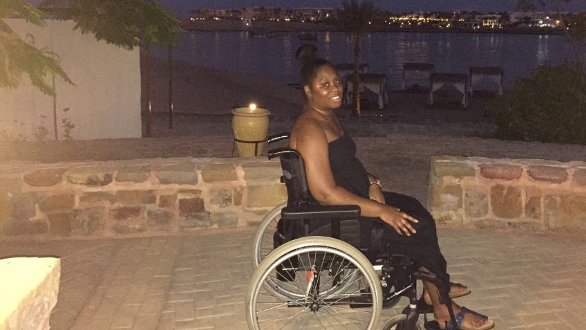 Fund a electric standing wheelchair