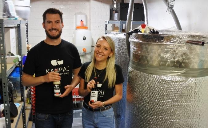 Kanpai london craft sake brewery image
