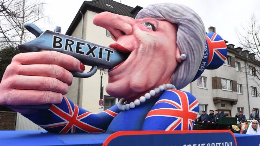 The Theresa May Float- Stop Brexit Tour