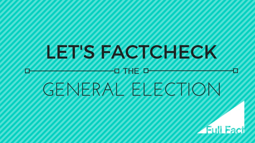 Let's factcheck the election!