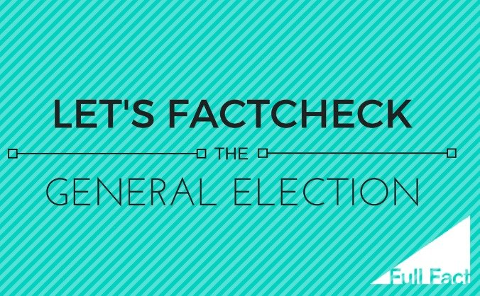Let's factcheck the election! image