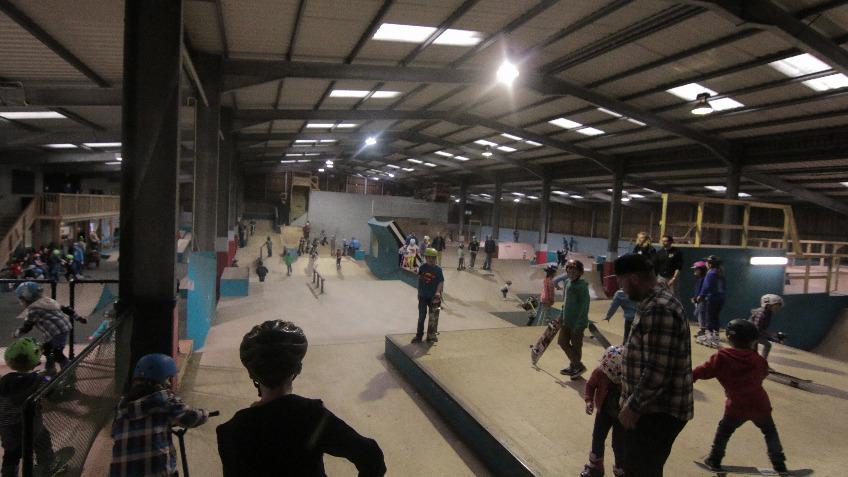 Mount Hawke Skate Park Re-build