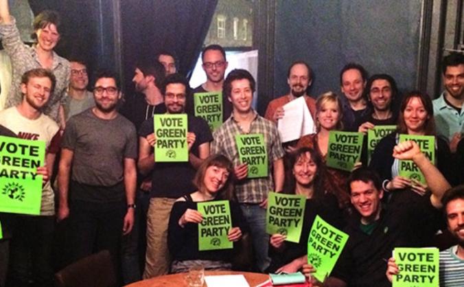Hackney greens general election campaign image