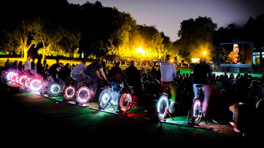 Pedal-Powered Cinema for Frome