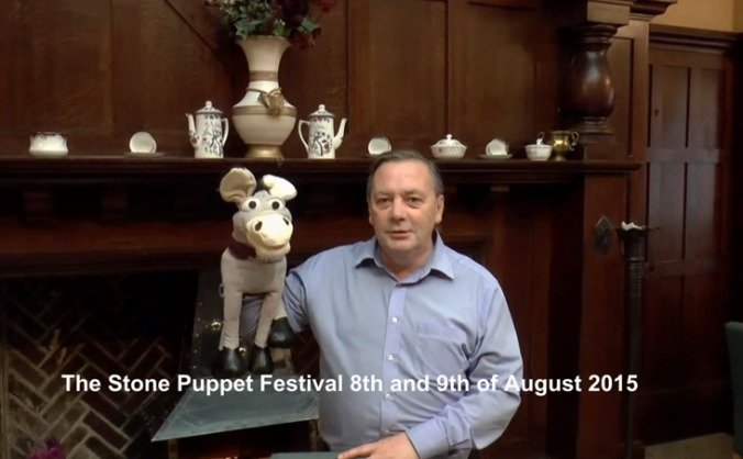 Stone puppet festival image