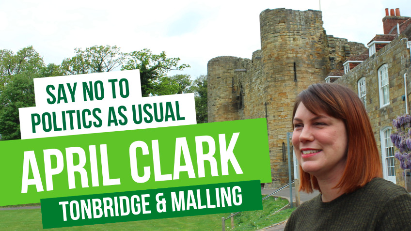 Help April stand for Greens in Tonbridge & Malling