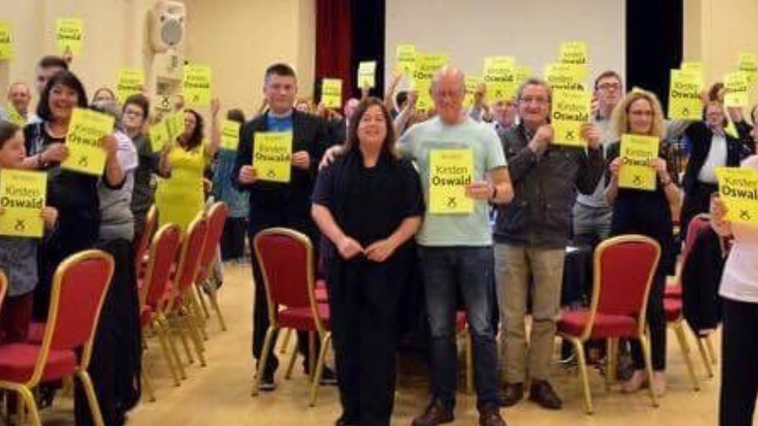 Re-elect Kirsten Oswald in East Renfrewshire