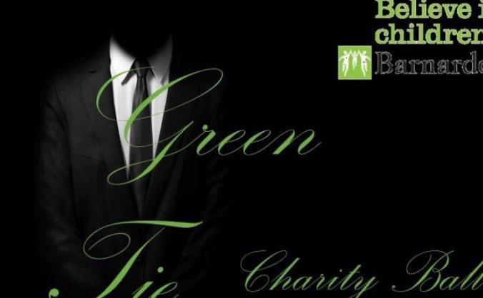 Green tie event image