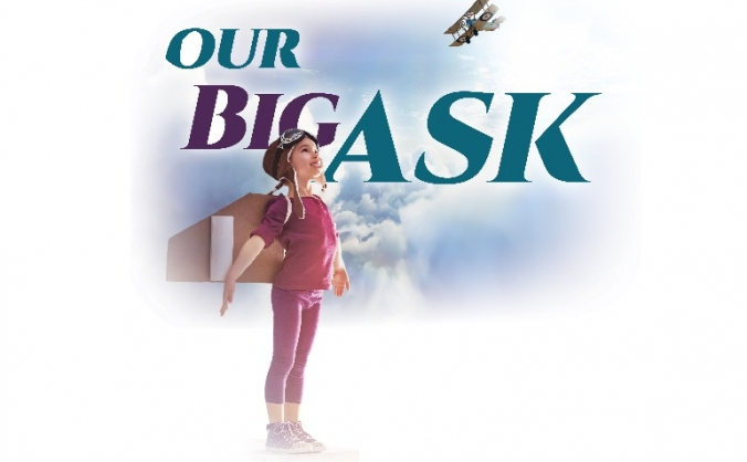 Our big ask image