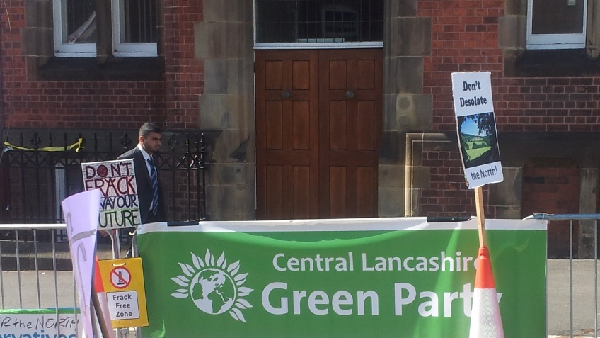 Get the Green Party on Central Lancs ballot papers