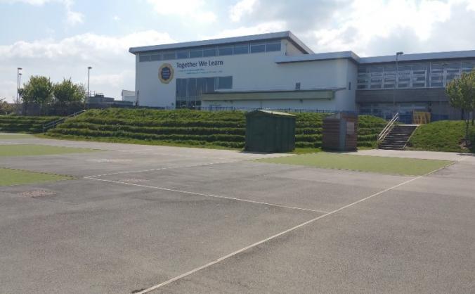 Playground development-ernesettle community school image