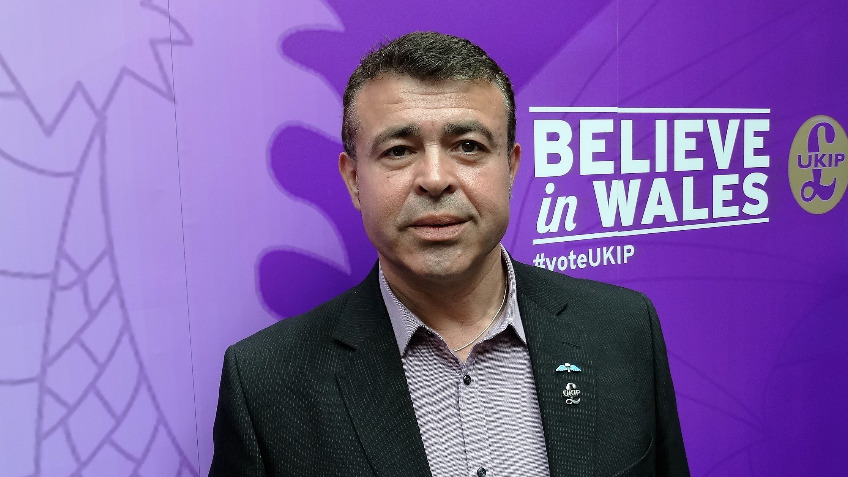 UKIP Election fund Islywn Wales