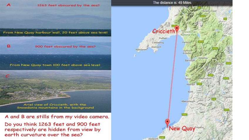 Welsh Coast Earth Curvature Survey