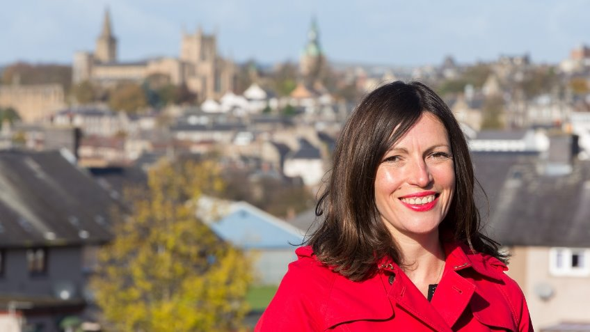 Cara Hilton for Dunfermline & West Fife