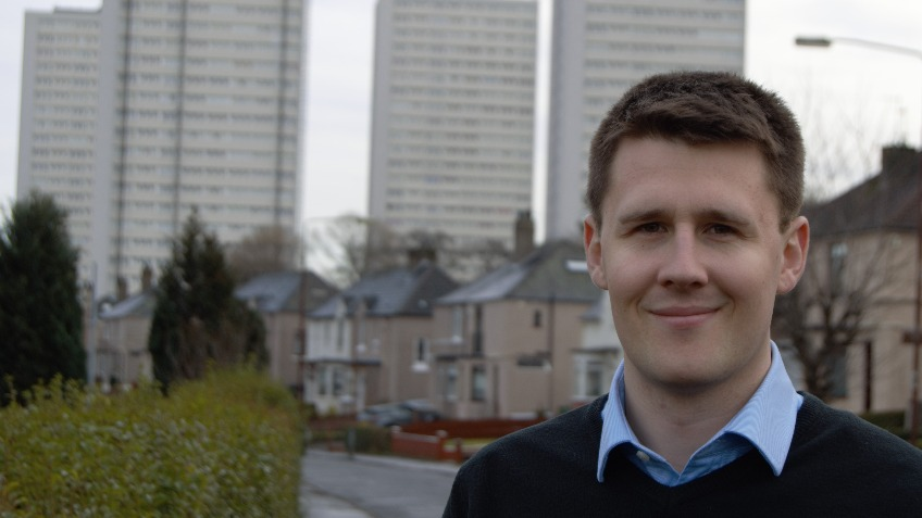 Elect David Linden as the next MP for Glasgow East
