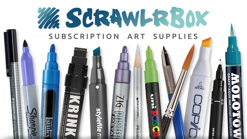 The Art Supplies Subscription Box