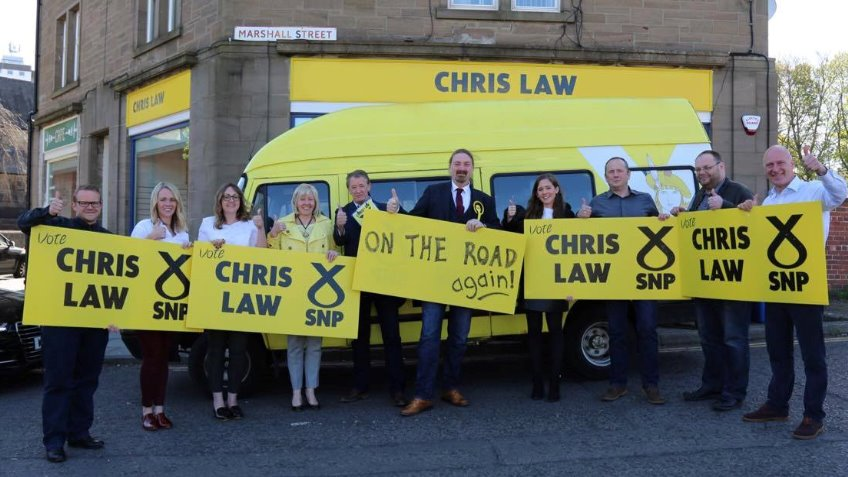 Re-elect Chris Law for Dundee West