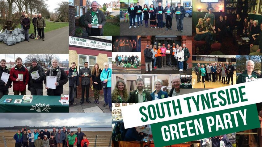 South Tyneside Green Party Election Campaign